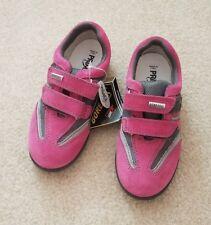NEW! Primigi Dana Toddler Girls Pink Pearlized Open-Toe Leather Sandals