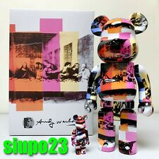 Medicom BE@RBRICK Series 12 Pattern Mahatoys x Andy Warhol Bearbrick 100/% S12