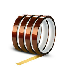 20mm 30M 100ft Kapton Tape Adhesive High Temperature Heat Resistant Polyimide cn