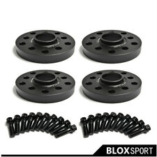 Fits Tesla Model 3 2017 Lugs 15mm x2 20mm x2 Black Hubcentric Wheel Spacers W
