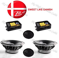 1 B2 Audio ELSQ 6.1 Component Set 150W Max Speakers  4 Ohm With Crossover