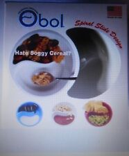 Creative Bol the original jamais détrempé de Céréales Bol avec spirale conception de diapo Bol