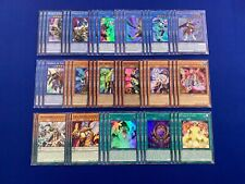 Yugioh Nekroz 24 Card Deck Core 3x Nekroz of Brionac 3x Trishula 3x Valkyrus NM