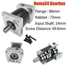 Nema 24 Planetary Gearbox 5:1 servo moteur réducteur de vitesse Geared Head 14 mm Arbre
