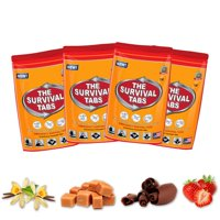 Military Army MRE C Ration Food Hardtack Snack Cracker Biscuit w// Candies 4pack