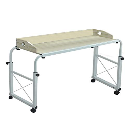 Luonita Overbed Table With Wheels, Overbed Table Queen Bed