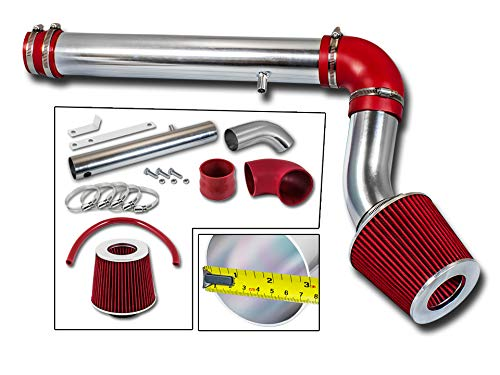 Rtunes Racing Short Ram Air Intake Kit Filter Combo RED For 05-10 Chevy Cobalt//Chevy Cobalt SS 2.4L L4