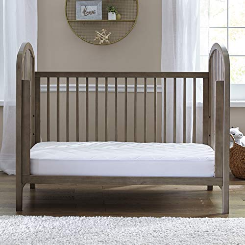 """Soft and Stretchable 52/""""x28/"""" Hypoallergenic White Sealy SafetyCase Protective Zippered Crib Mattress Encasement -Lab Tested 100/% Bed Bug Proof Waterproof"""