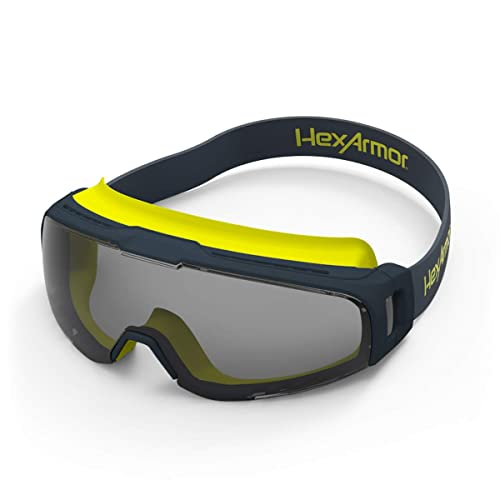 single frame Holulo Clear Anti-Fog Dual Mold Safety Goggle CE ANSI Standard Impact Resistant Safety Glasses