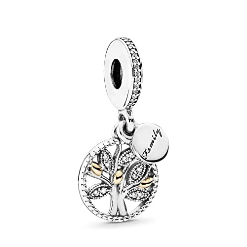 14k Two-Tone Yellow Gold Sweet 16 Words On Oval Filigree Pendant 27x13mm