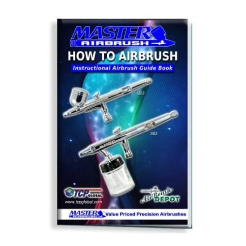 Works with Master How to Airbrush Training Book to Get You Started FREE Paasche Airbrushes Master Airbrush/® Brand Box of 10-each TB-002 3//4-Ounce, Badger 22cc Also Includes a Glass Bottle Air Brush Depot Airbrushing Accessories