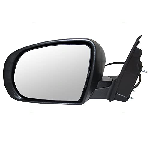 Passengers Power Side View Mirror Replacement for Chevrolet Traverse GMC Acadia Saturn Outlook 23453776 AutoAndArt