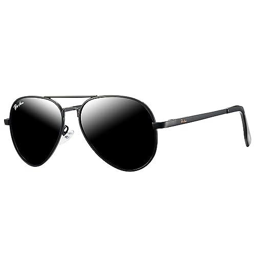 YuFalling Polarized Aviator Kids Sunglasses for Girls and Boys Age 5-12