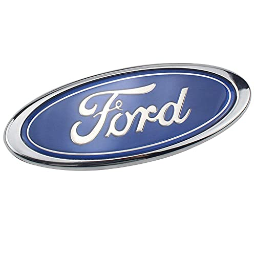 Blue Oval Replacement Badge Fits 11-14 Edge 11-16 Explorer 07-14 Expedition dark blue Shenwinfy 9 Ford emblem for 2004-2014 F150 Front Grille Rear Tailgate 06-11 Ranger