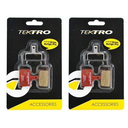Tektro IOX.11 Bike Brake Pads Metal Ceramic Compound With Return Spring 2 Pairs