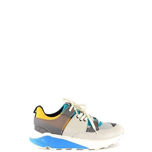 9633cbd29b57 Buy Dondup Men's HS001Y00001XXXDXU802 Multicolor Leather Sneakers ...