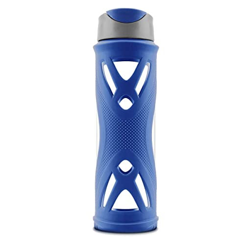 Portable Drinking Straw Sports Water Bottle Leakproof BPA-Free Tritan Plastic Water Bottle 15//22//35oz One Click Flip Cap for Outdoor//Camping//Running//Gym//