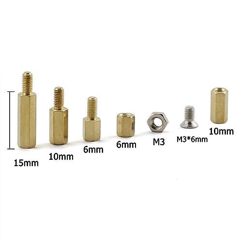 pack de 10 Acier 10mm hex noix