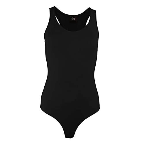 Womens Jumpsuit Racerback Tank Top Bodysuits