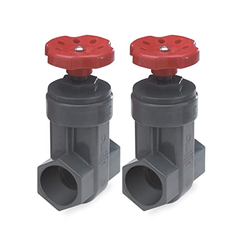 Fipt King Brothers Inc Pvc 1-Inch 150 Psi 1 In EBV-1000-T Nds 1-Piece Economy Full Port In-Line Ball Valve