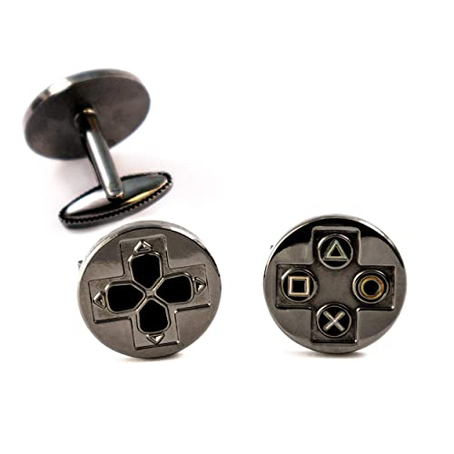 Playstation Tie Clip Tack Groomsman Gaming Jewelry PS4 Controller Cufflinks