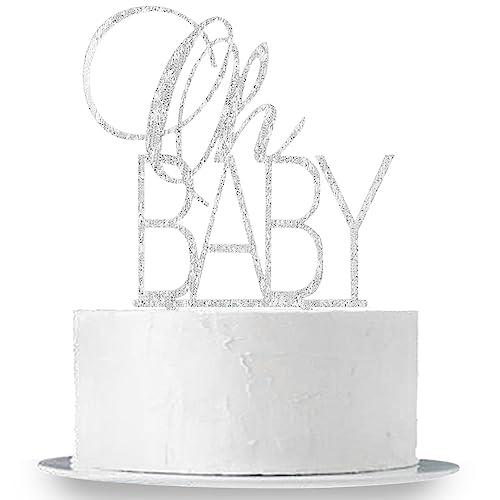 INNORU Black Glitter Wild One Cake Topper Boy Girl First Birthday Party Idea
