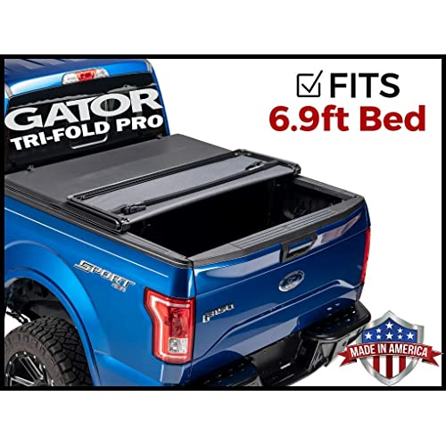 59316 Gator Etx Soft Tri Fold Truck Bed Tonneau Cover 8 Ft Bed Fits Ford Super Duty 2017 19 Exterior Accessories Truck Bed Tailgate Accessories