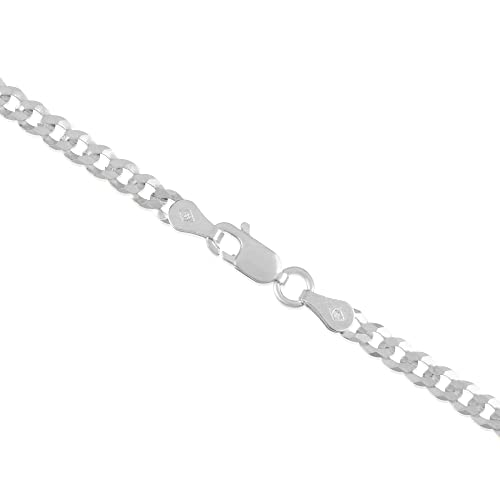 .925 Sterling Silver Sizes 16-30 Verona Jewelers Sterling Silver 1.2-1.8MM Unisex Box Chain Necklace