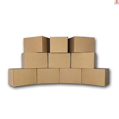 Buy Uboxes Medium Moving Boxes 18 X 14 X 12 Inch 10 Pack