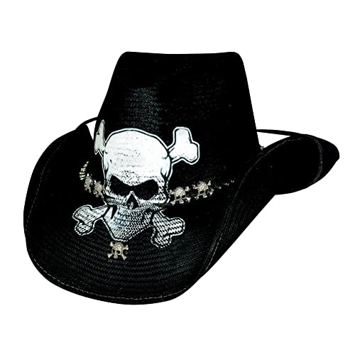 NEW Bullhide Hats 4022Bl Heavy Metal Collection Iron Road Black Cowboy Hat