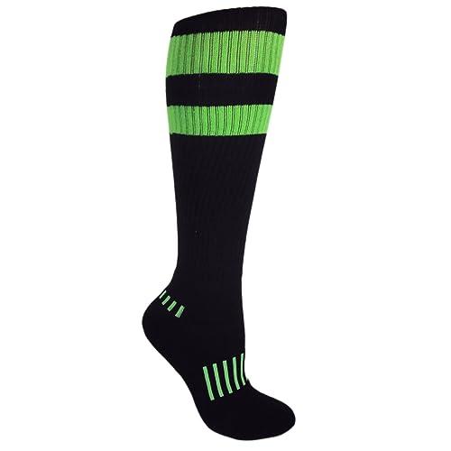 DZSbestdeal Unisex Over-the Calf Athletic Soccer Football Socks
