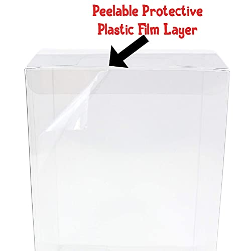 Pack Of 100 POP Vinyl Protector Cases NEW Funko Standard Size Acid Free