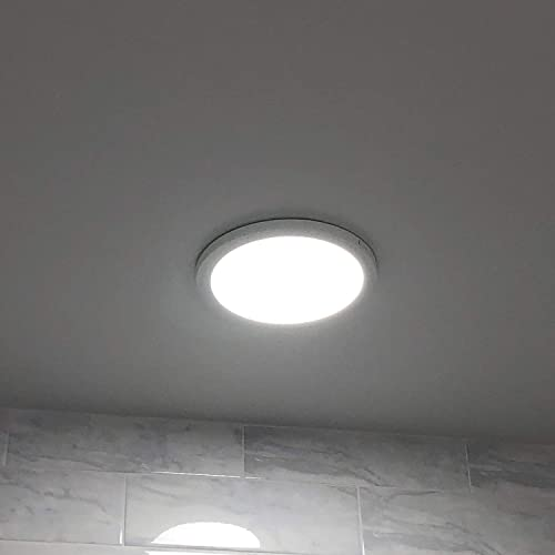 20w 9 Inch Ultra Thin Recessed Ceiling Light Adjustable Cut Hole Diameter 2 9 6000k Daylight White 120w Equiv Simple Retrofit Installation Pack Of 1 1920lm Super Bright Led Slim Round Downlight Talkingbread Co Il