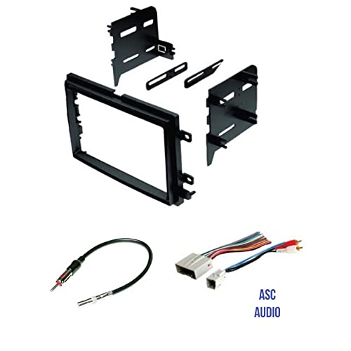 Buy ASC Audio Car Stereo Radio Install Dash Kit, Wire ... Aftermarket Radio Wiring Harness Adapter on aftermarket stereo adapter box, aftermarket engine harness, jvc radio harness, 2012 dodge ram radio harness, aftermarket stereo color codes, aftermarket wire harness, aftermarket radio with navigation, aftermarket radio antenna, aftermarket radio connectors, stereo harness,