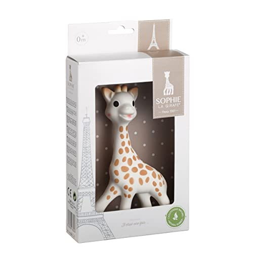 NCVI Baby Teething Toy Cute Silicone Giraffe Baby Teether Chew ...