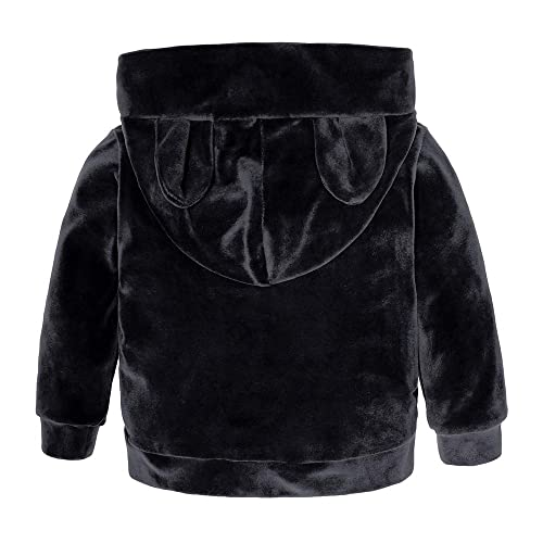 Sweatpants Outfits Set KIDS TALES Boys Girls 2Pcs Velvet Hooded Tracksuit Top 12M-8T