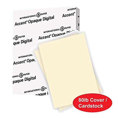 White Paper Springhill Cardstock Paper 8.5 x 11 175gsm 1... 92 Bright 80lb