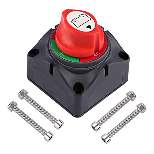 MoPei On//off Switch Boat Battery Disconnect Switch Waterproof Master Isolator...