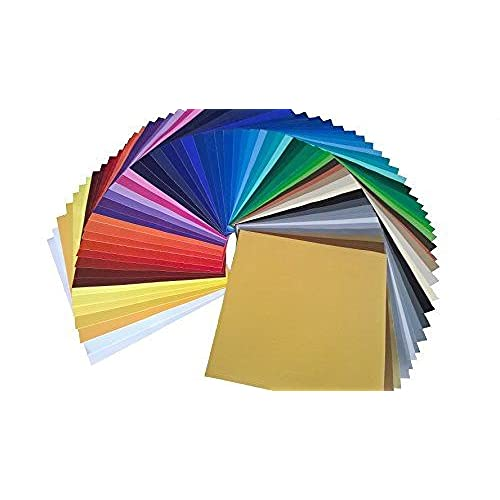 """24 Pack of Top Colors Oracal 651 Gloss Vinyl 12/"""" x 12/"""" for silhouette cricut"""