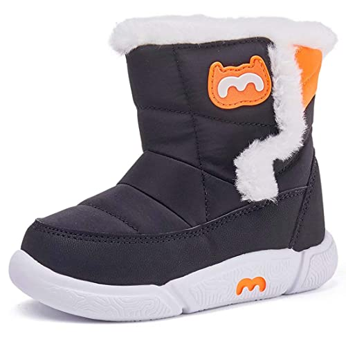 BMCiTYBM Toddler Winter Snow Boots Boys Girls Cold Weather Baby Faux Fur Shoes Infant//Toddler//Little Kid