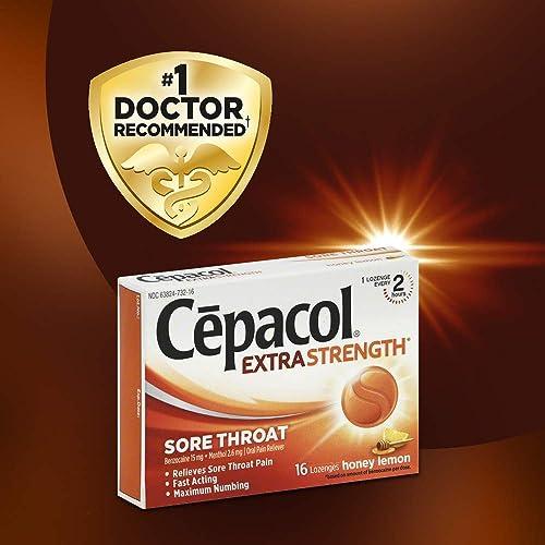 Buy Cepacol Extra Strength Sore Throat Relief Lozenges