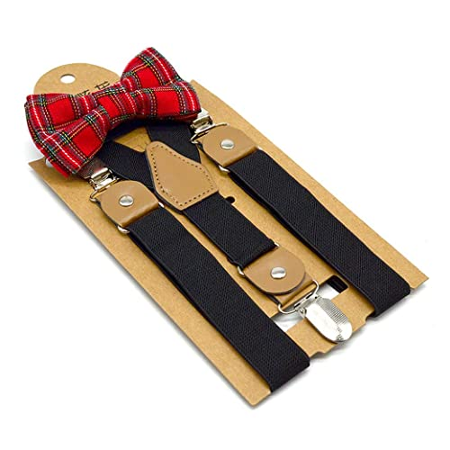 Boy/'s SUSPENDERS Y Shape Back Elastic with Clips Children/'s Kid/'s Suspender