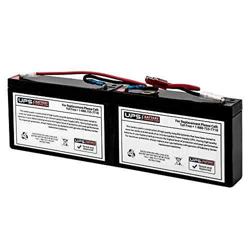 UPSBatteryCenter BK650 Compatible Replacement Battery for APC Back-UPS 650VA