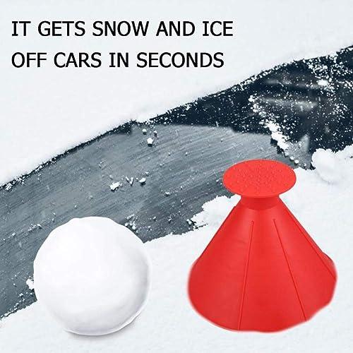 Scrape A Round Magic Windshield Ice Scraper Snow Shovel Tool Auto Snow Brush Car Truck SUV Magical Car Ice Scraper Car Round Ice Scraper