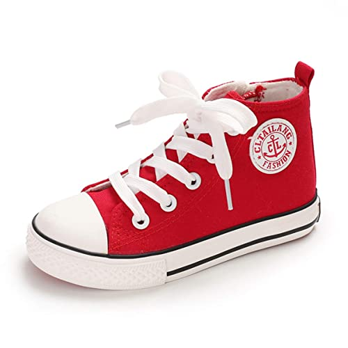 Canvas High Top Sneaker Casual Skate Shoe Boys Girls Egypt Flag