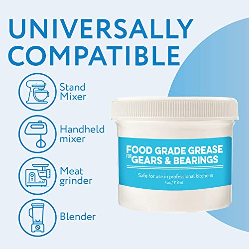 4 Oz Food Grade Grease For Kitchenaid Stand Mixer Made In The Usa Buy Products Online With Ubuy Morocco In Affordable Prices B0722vgthj