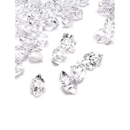 Acrylic Crystal Gem Stone Ice Rocks Table Scatter Confetti Vase Filler 150pcs MA