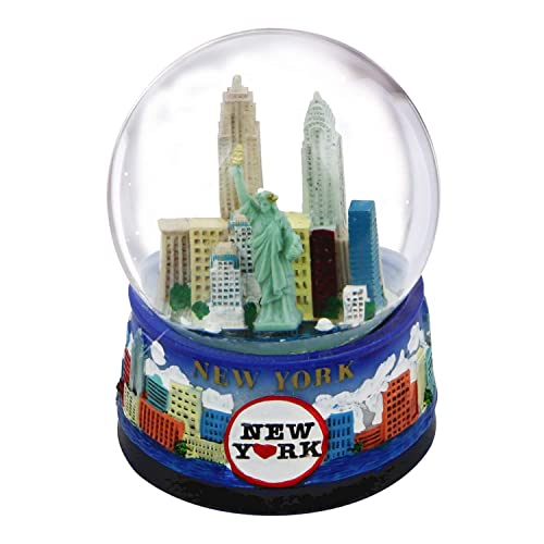 Yellow 65MM Great Places To You Las Vegas Glitter Snow Globe