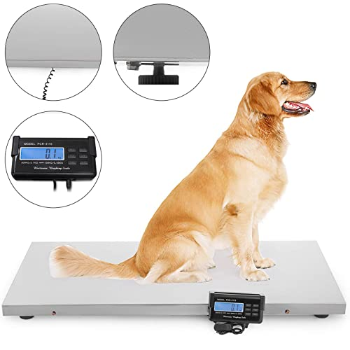 Mophorn 2.5T//5000lb Livestock Scale Kit High Precision Indicator Floor Scale Kit Waterproof Material Animal Scale Kit Perfect for Hogs Goats Sheep and Alpacas 2.5 T