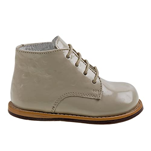Beige Patent Ostrich, 4.5 Josmo 2-8 Patent Ostrich Walking Shoes